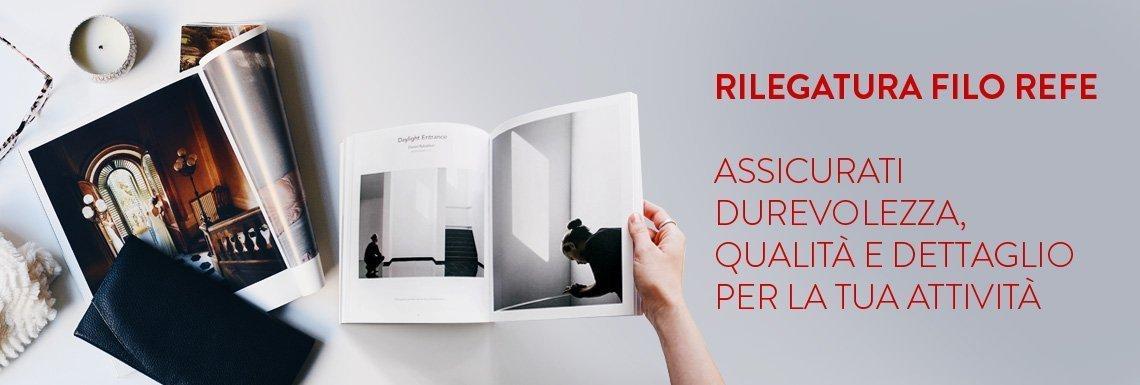 499fcaedb43265 Stampa Brossura Filo Refe Online - Tipografia24Ore